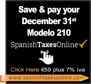 Spanish taxes Online Right column Banner