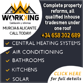 Workking Banner Murcia and Alicante