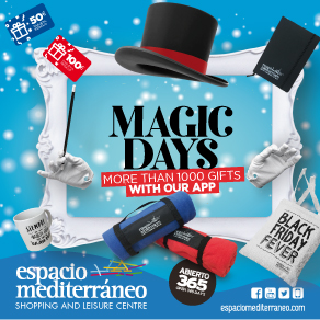 Espacio Mediterraneo Magic Sponsors Banner