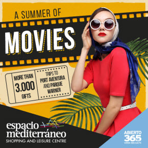 Espacio Mediterraneo Movies  Sponsors Banner